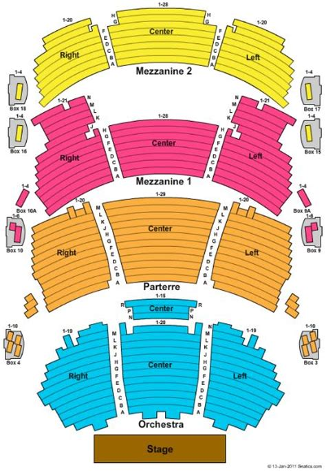 dolby theater seating chart disneylivejr