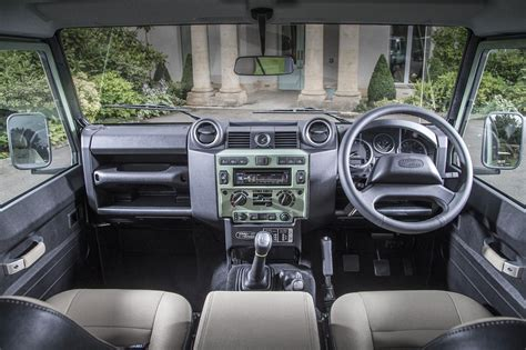 land rover defender 90 interior land rover defender by car magazine