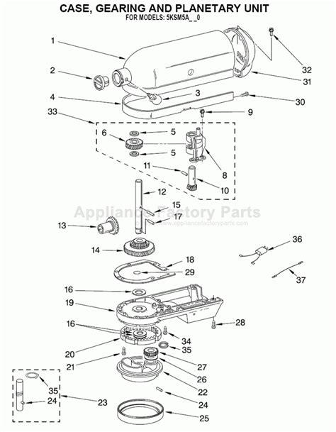 kitchenaid artisan mixer parts diagram kitchenaid artisan mixer parts diagram automotive parts