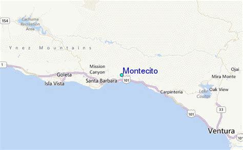 montecito tide station location guide