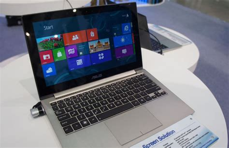 asus zenbook prime ux21a with touch on gorgeous screen blazing boots