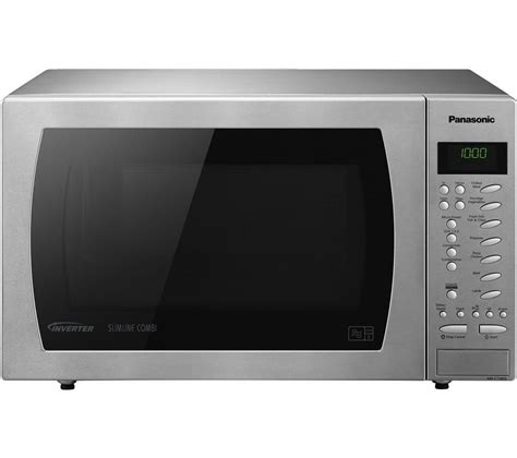 Microwave Oven Panasonic buy panasonic nn ct585sbpq combination microwave
