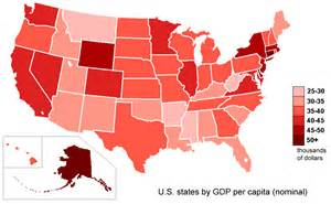 us map per state glimpses of inequality in the united states geocurrents