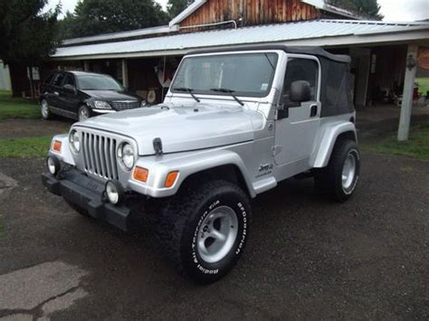 2006 Jeep Wrangler 4 Door Find Used 2006 Jeep Wrangler 65th Anniversary Edition