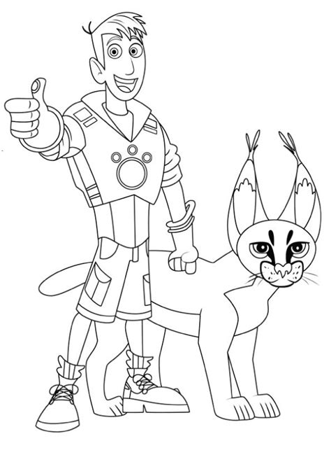printable coloring pages wild kratts print coloring image discover more ideas about wild kratts