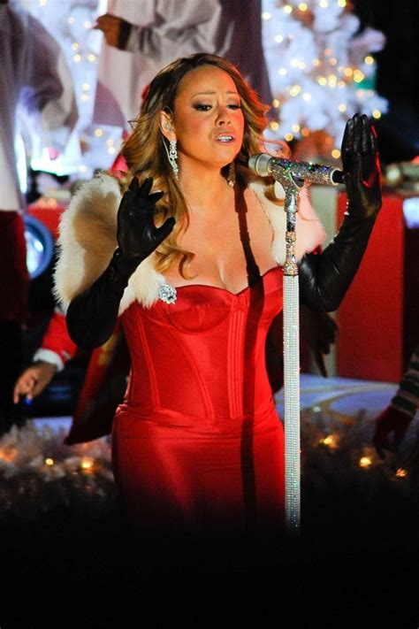 mariah carey 2013 rockefeller center christmas tree