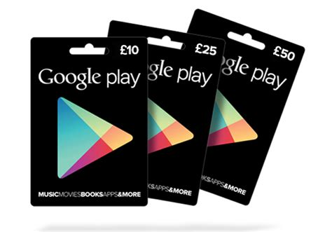 Google Play Gift Cards Uk - uk google play gift cards launching for 163 10 163 25 and 163 50