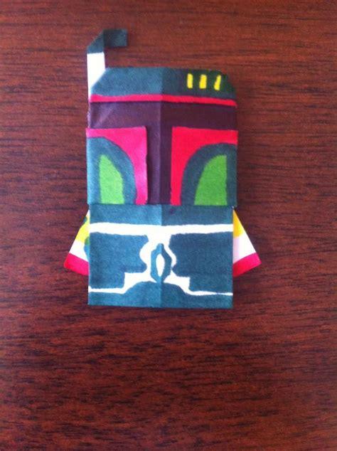 Origami Boba Fett - boba fett instrux search results origami yoda page 2