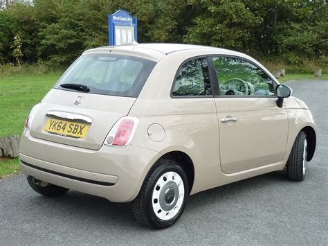 fiat 500 for sale used beige fiat 500 for sale cheshire