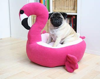 pre order flamingo bed cat bed kawaii pink