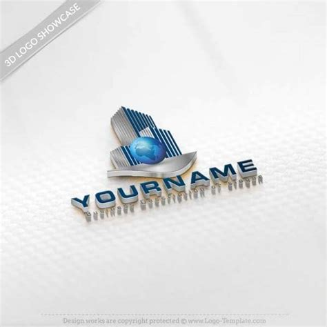 Real Estate Logo Templates by Create Real Estate Globe Logos With Our Free Logo