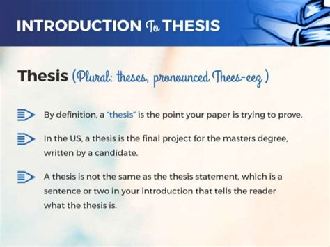 pronunciation of thesis how to pronounce the plural of thesis
