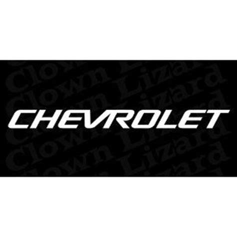 chevrolet windshield decal 1000 images about chevy decals on logos cars