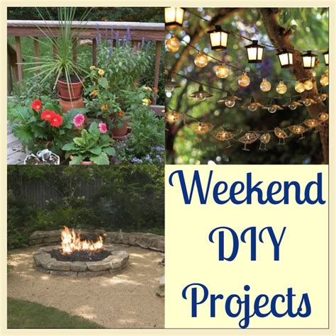 easy weekend home improvement projects homeowners