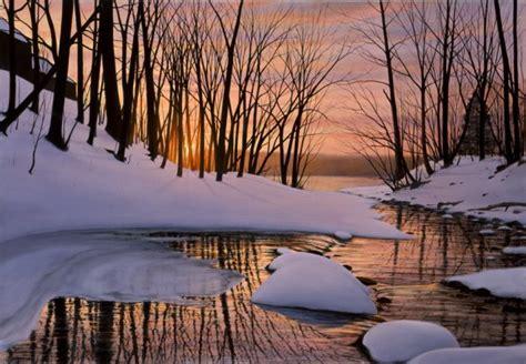 alexander volkov fine art end of winter