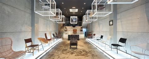 showroom interior design for architectural design firm innovative design ideas the yamakawa rattan showroom in