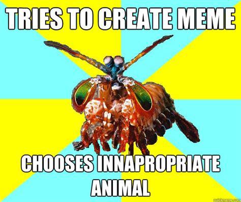 Mantis Meme - non internet savvy mantis shrimp memes quickmeme