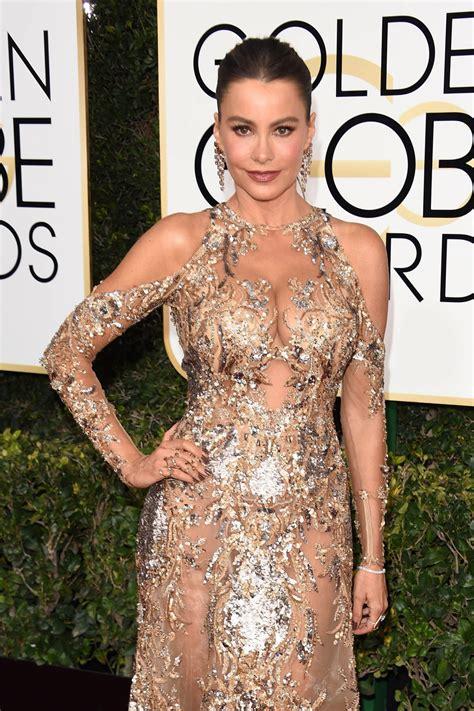 Golden Globe Red Carpet Fashion sofia vergara is too much at the 2017 golden globe awards