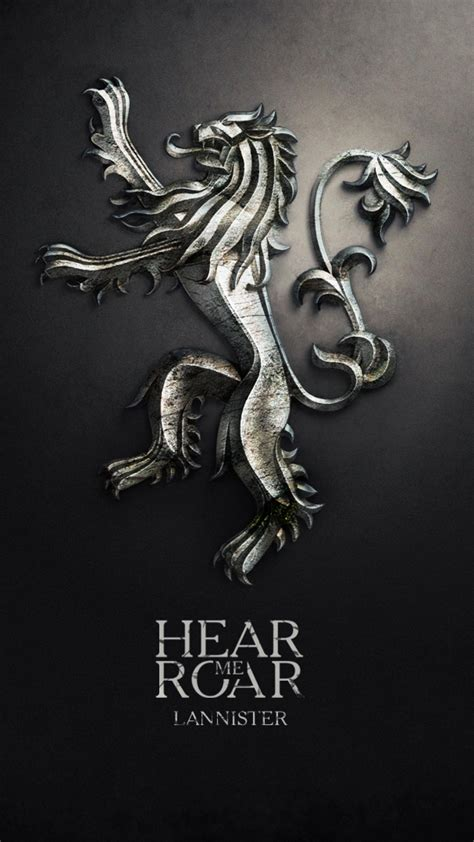 games of thrones wallpaper android hear me roar lannister best htc one m9 wallpaper