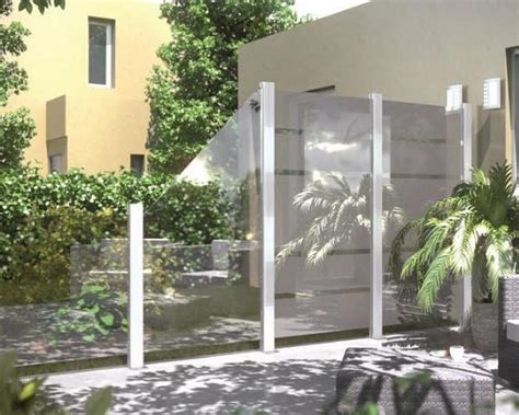 frangivento in vetro la novit 224 betafence per terrazze e