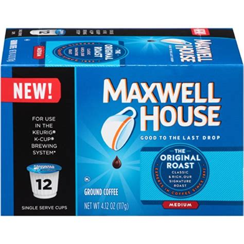 Quality Tfa Coffee 4oz Bulk Size Original Pack coffee consumers maxwell house single serve k cups cafe collection original roast 12 count
