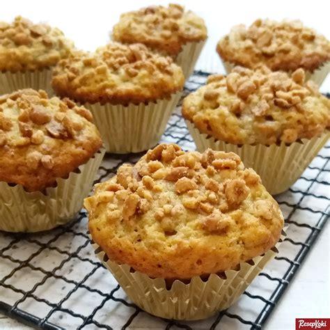 muffin pisang lembut praktis resep resepkoki