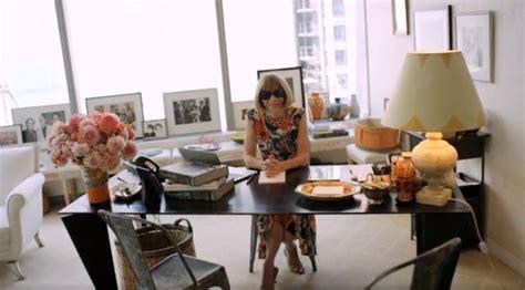 vogue home decor inside the habitat of a boss anna wintour s office