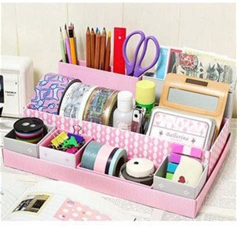 How To Make A Paper Organizer - fashion diy storage paper box in box table clean up