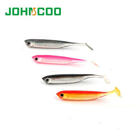 Lure Swimbait 3d Orange fishing lure soft bait 6pcs bag 70mm 2 1g shad swimbait 3d soft worm jig soft lure fly