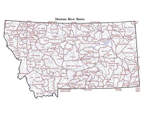 map of montana state maps of montana state collection of detailed maps of