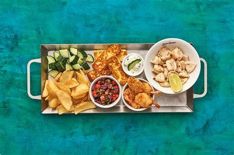 Mediterranean Home Style now serving the new ocean basket 2017 winter menu