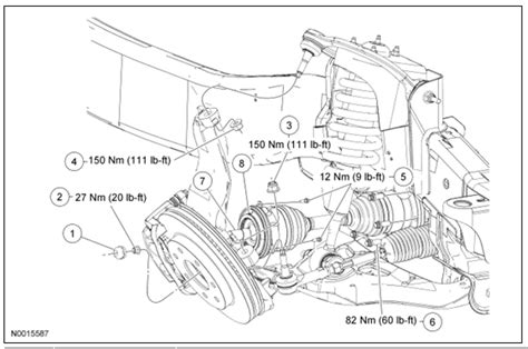 2006 ford f150 parts diagram 2006 f150 4x4 front rh hub will not lock in