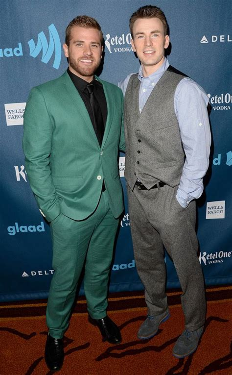 gay celeb news chris scott evans from celebs with gay siblings e news