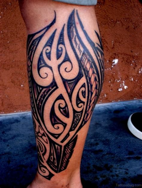 calf tattoos tribal 108 great looking tribal tattoos on leg