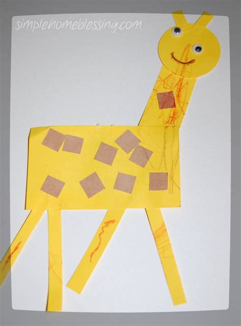 Papercraft Giraffe - 1000 images about preschool zoo theme on