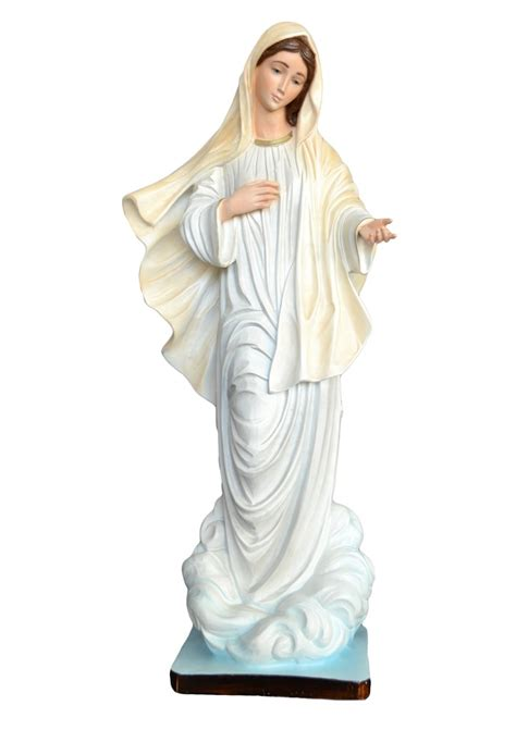 madonna illuminata medjugorje our of medjugorje statue religious statues