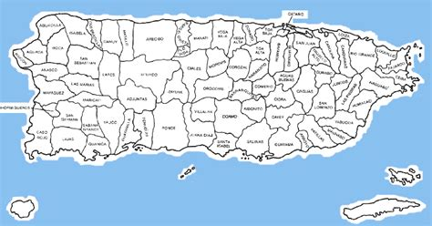 printable map puerto rico maps of puerto rico