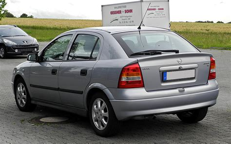 Opel Astra 1 6 by Fichier Opel Astra 1 6 Selection G Heckansicht 21