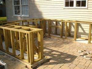 Outside Bar Plans Outdoor Bbq And Bar Construction Contractortalk