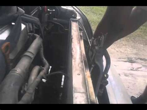 2003 kia sedona radiator replacement part 3 youtube kia sedona radiator replacement part 2 youtube