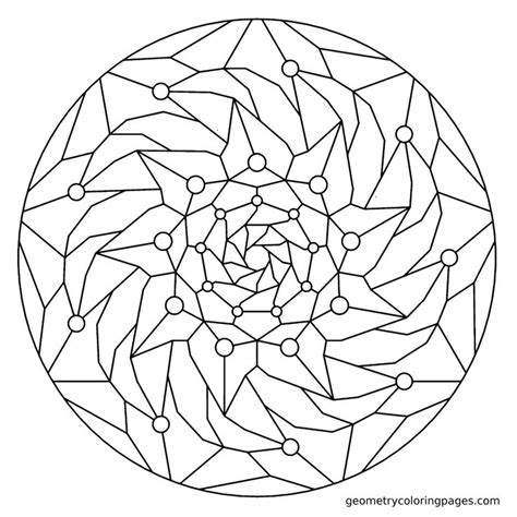 Advanced Geometric Coloring Pages Advanced Coloring Pages Advanced Geometric Coloring Pages