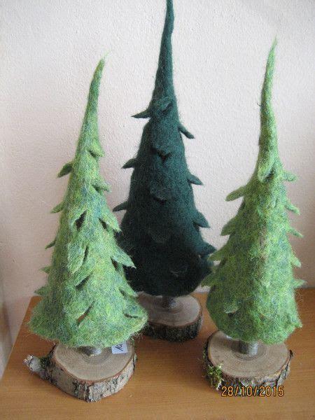 die besten  weihnachtsbaum holz ideen auf pinterest