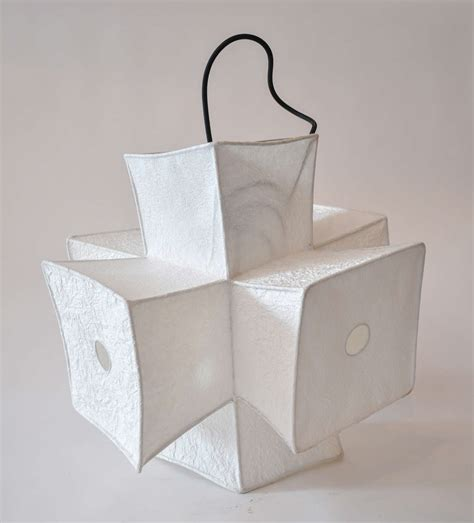 Paper Lighting Fixtures Light Fixture And Paper Lantern By Andrew Stansell At 1stdibs