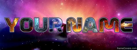 Your Name Or Text space text name cover timeline cover