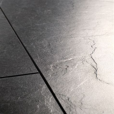 Laminate Slate Flooring Quickstep Exquisa Slate Black Exq1550 Laminate Flooring
