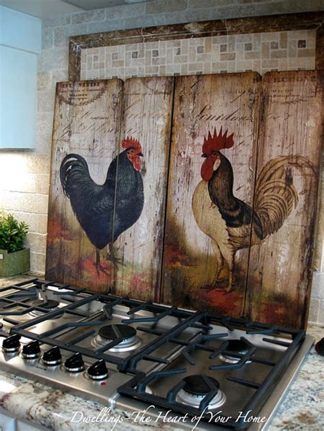 chicken home decor 50 rooster home decoration ideas home design garden