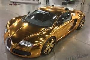 Solid Gold Bugatti