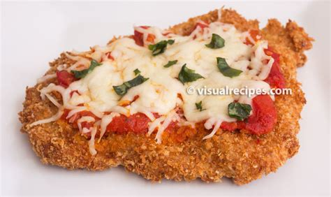 chicken parmesan recipe visual recipes