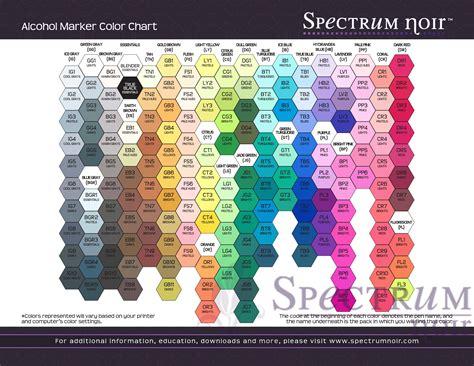 what color is noir back to basics spectrum noir markers craftmama