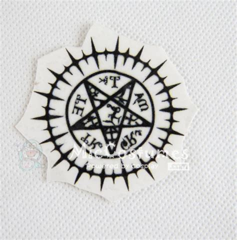 black butler tattoo black butler sebastian michaelis sticker